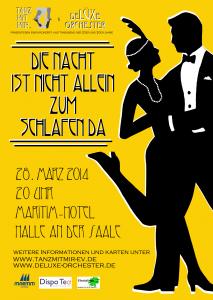 Konzert- und Tanzabend der 20er Jahre_Flyer